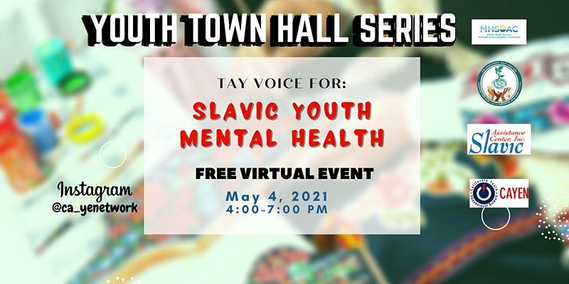 Slavic Youth Mental Health Virtual Event
